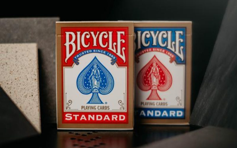 baraja bicycle standard magic