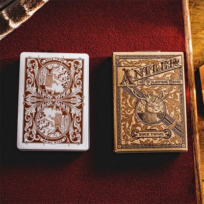 antler playing cards